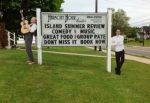Island Summer Review: outdoor sign