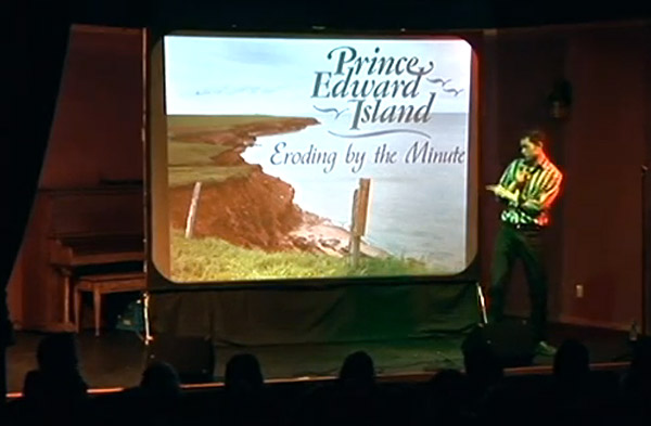 Patrick Ledwell Comedy with Visuals 2014