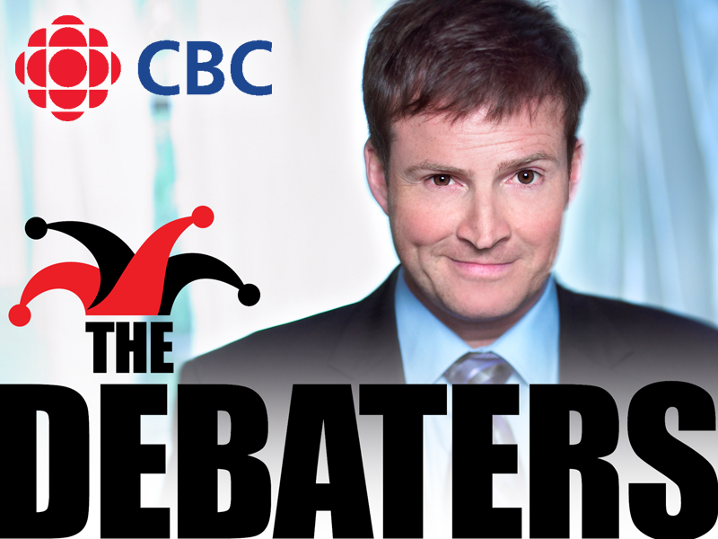 CBC's The Debaters: logo