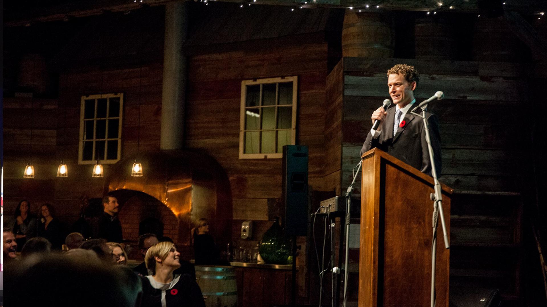 Hosting: 2015 True Patriot Love Gala dinner