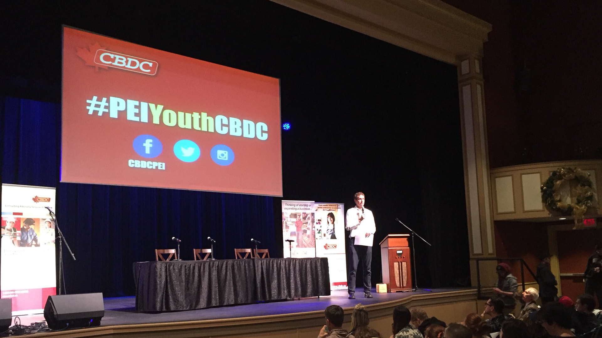 Hosting: 2016 Cdn. Business Dev. Corp. Youth event